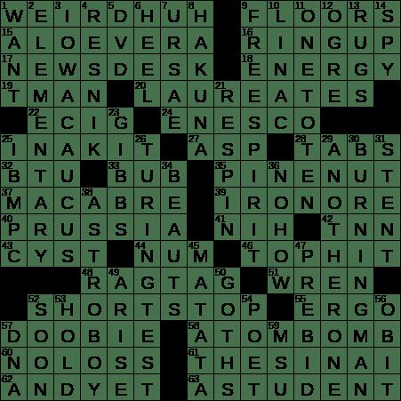 1121 20 Ny Times Crossword 21 Nov 20 Saturday Nyxcrossword Com