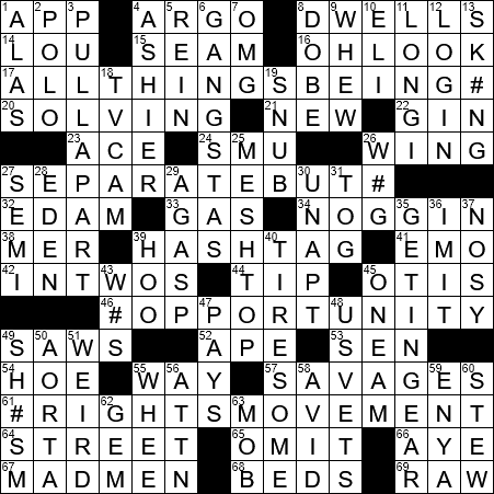 1105 20 Ny Times Crossword 5 Nov 20 Thursday Nyxcrossword Com