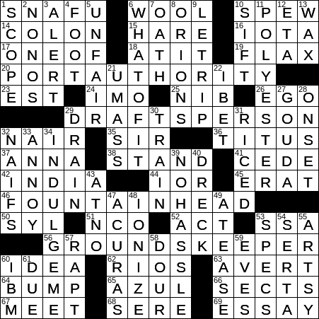 1110 20 Ny Times Crossword 10 Nov 20 Tuesday Nyxcrossword Com